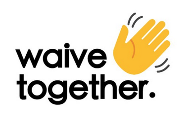 the 'waive together' logo