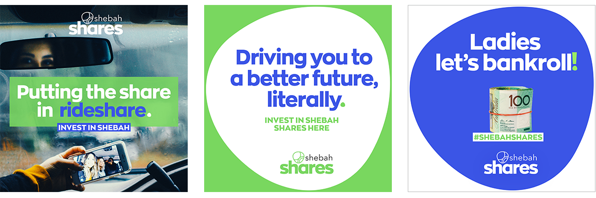 shebah capital raise social