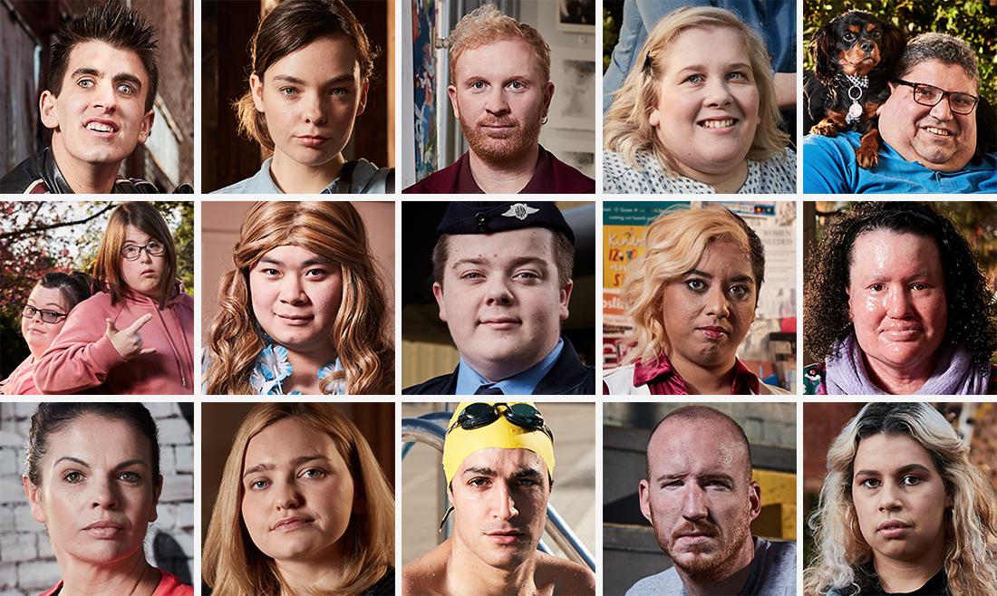 Speak Up! Hero Portraits
